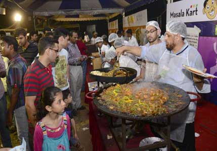 Hyderabad India restaurants: Featured Food Festivals
