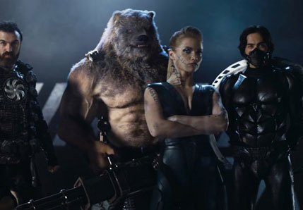 Hyderabad India movies: Guardians The Superheroes