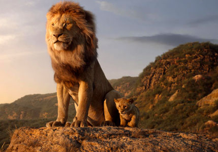 Hyderabad India movies: The Lion King
