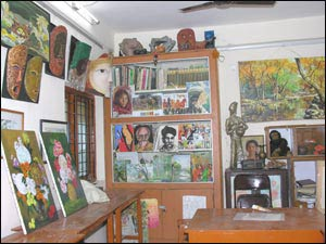 P R Raju Art School