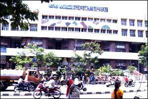 Chenetha Bhavan - APCO Handloom House, Abhinava, Priyadarshini, UPICA, Co-Optex