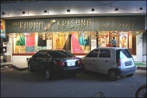 Sri Radhakrishna Silk Palace
