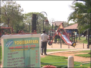 Yogi Bear Mini Golf Park