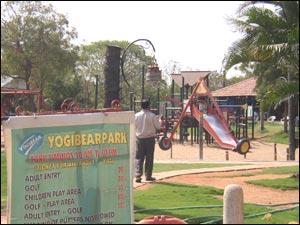 Yogi Bear Mini Golf Park