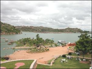 Durgam Cheruvu & Rock Garden