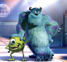 Monsters Inc (english) - cast, music, director, release date