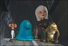 Monsters Vs Aliens (english) - cast, music, director, release date