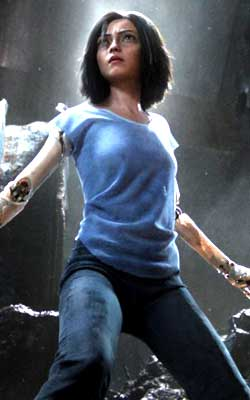 Alita Battle Angel (english) - cast, music, director, release date