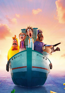 Cloudy With A Chance Of Meatballs 2 (3D) (english) - cast, music, director, release date