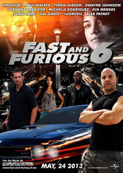 Fast & Furious 6 (english) - cast, music, director, release date