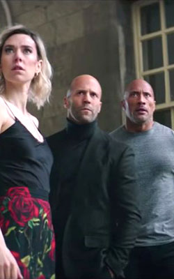 Fast & Furious : Hobbs & Shaw (english) - cast, music, director, release date