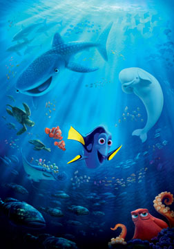 Finding Dory (english) - cast, music, director, release date