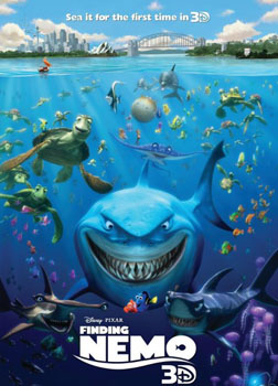 Finding Nemo (3D) (english) - cast, music, director, release date