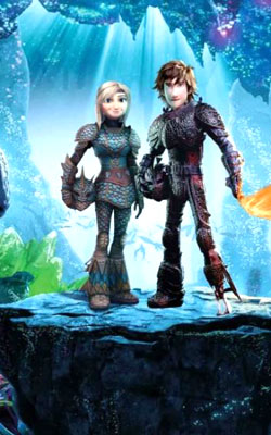 How to Train Your Dragon The Hidden World (english) - cast, music, director, release date