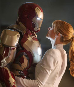 Iron Man 3 (3D) (english) - show timings, theatres list