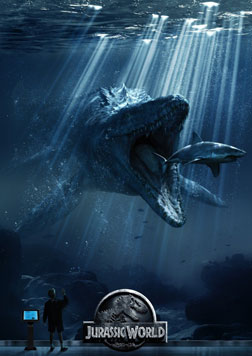 Jurassic World (3D) (english) - cast, music, director, release date