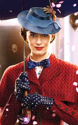 Mary Poppins Returns (english) - cast, music, director, release date