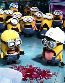 Minions (3D) (english) - cast, music, director, release date