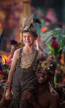 Pan (3D) (english) - cast, music, director, release date