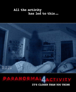 Paranormal Activity 4 (english) reviews