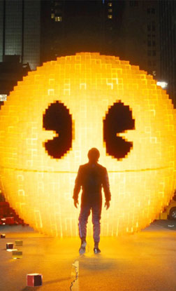Pixels (english) - cast, music, director, release date