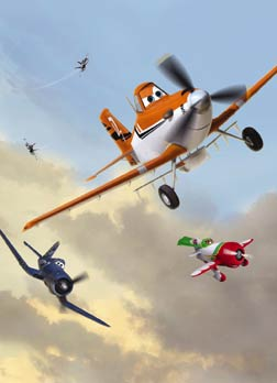 Planes (3D) (english) - cast, music, director, release date