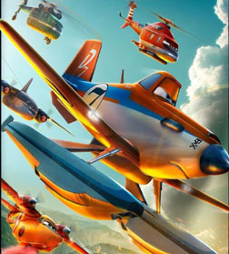 Planes: Fire & Rescue (3D) (english) - cast, music, director, release date