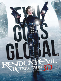 Resident Evil: Retribution (3D) (english) - cast, music, director, release date