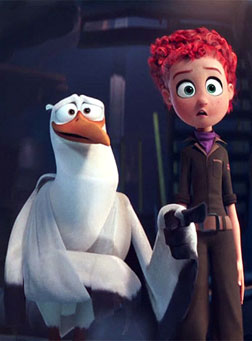 Storks (english) - cast, music, director, release date