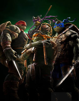 Teenage Mutant Ninja Turtles (3D) (english) - cast, music, director, release date