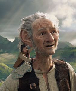 The BFG (english) - cast, music, director, release date