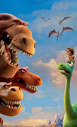 The Good Dinosaur (3D) (english) - cast, music, director, release date