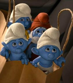 The Smurfs 2 (3D) (english) - cast, music, director, release date