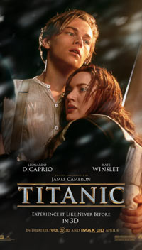 Titanic (3D) (english) - cast, music, director, release date