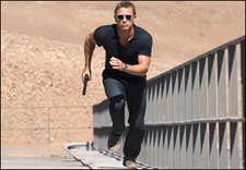 Quantum Of Solace (english) - show timings, theatres list