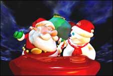Santa Vs The Snowman