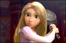 Tangled - 3D (english) - cast, music, director, release date