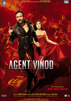Agent Vinod (hindi) - cast, music, director, release date