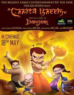Chhota Bheem And The Curse Of Damyaan (hindi) - cast, music, director, release date
