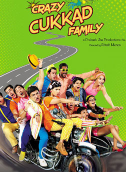 Crazy Cukkad Famlily (hindi) - cast, music, director, release date