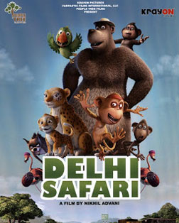 Delhi Safari (hindi) - cast, music, director, release date