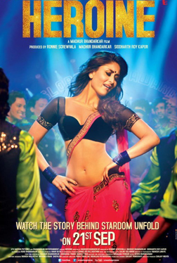 Heroine (hindi) - cast, music, director, release date