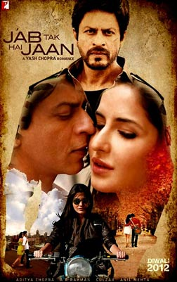 Jab Tak Hai Jaan (hindi) - cast, music, director, release date