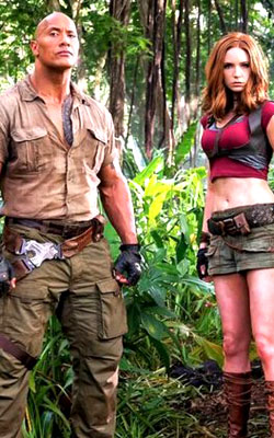 Jumanji: Welcome To The Jungle (Hindi) (hindi) - cast, music, director, release date
