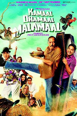 Kamaal Dhamaal Malamaal (hindi) - cast, music, director, release date