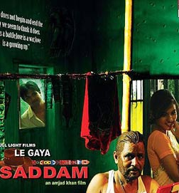 Le Gaya Saddam (hindi) - cast, music, director, release date
