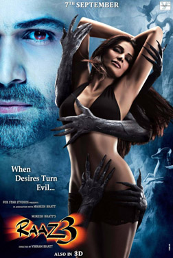 Raaz 3 (3D) (hindi) - show timings, theatres list