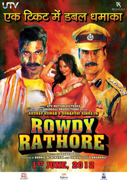 Rowdy Rathore (hindi) - cast, music, director, release date