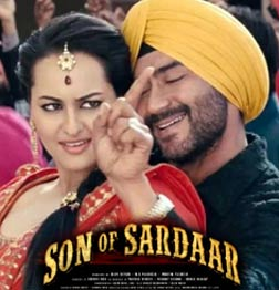 Son Of Sardar (hindi) - cast, music, director, release date