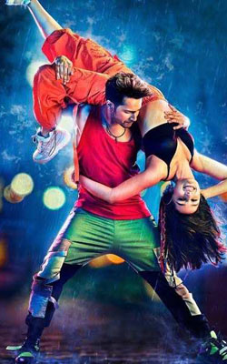 Street Dancer 3D (hindi) - show timings, theatres list